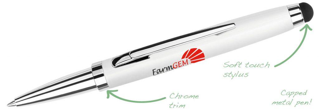 Armada White 1024x356 - Metal Pens