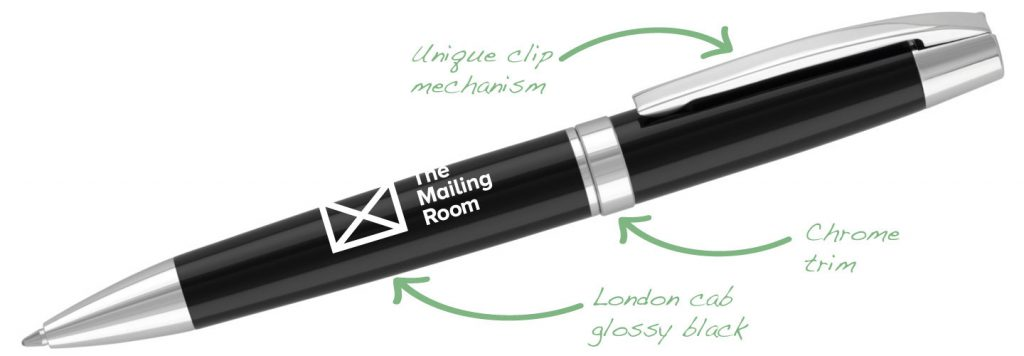 Buckingham Black 1024x356 - Metal Pens
