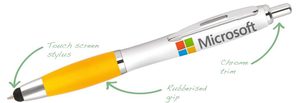 Contour Touch Digital Yellow 1024x356 - Contour Pens