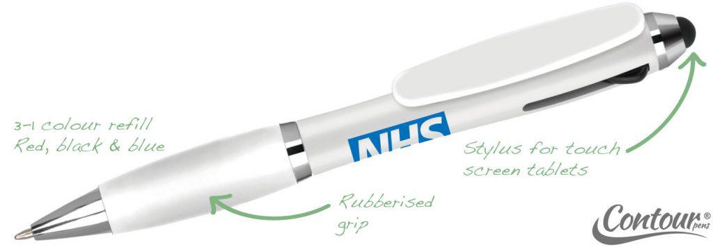 Contour Tricolour White 1024x356 - Contour Pens