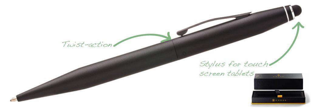 Cross Tech2 Black 1024x356 - Cross Pens