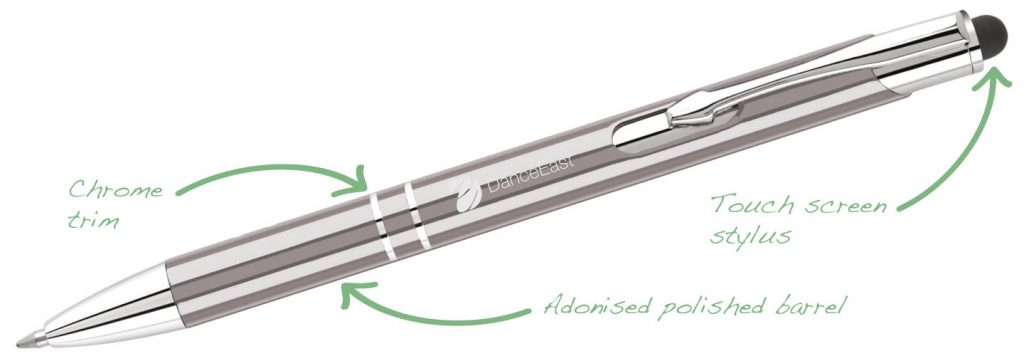 Electra i GunMetal 1024x356 - Metal Pens