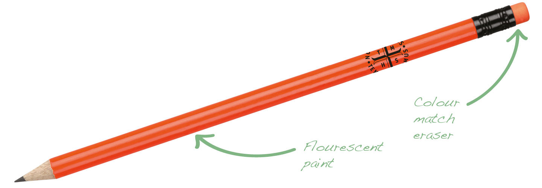 Flourescent-Pencil-Orange