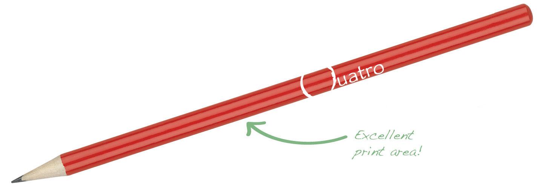 Hibernia-Pencil-Red