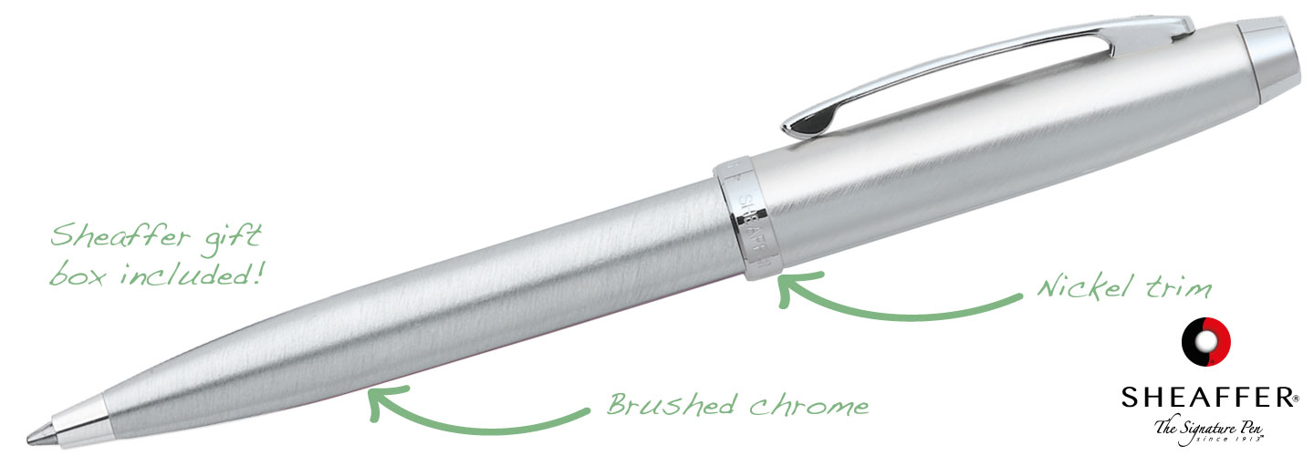 Sheaffer-100-Chrome