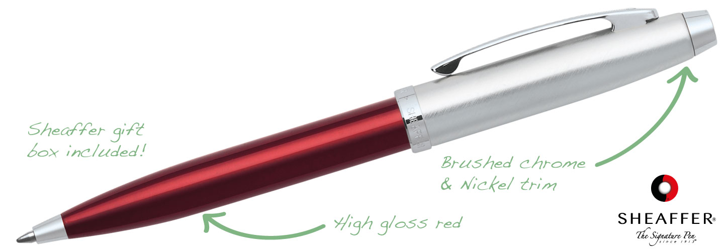 Sheaffer-100-Red