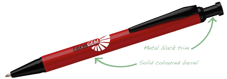 Belmont-Metal-Pen-Red