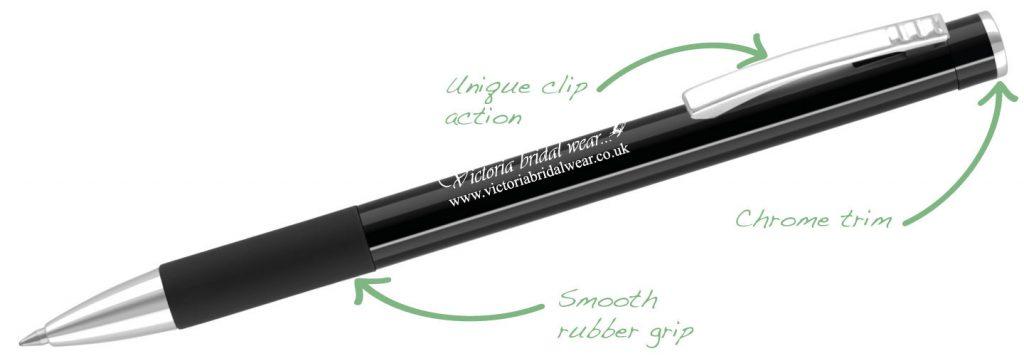 Clio Black 1024x356 - Metal Pens