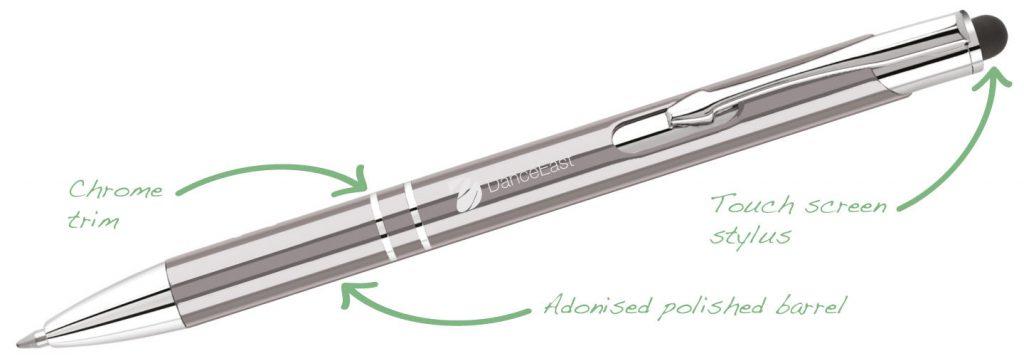 Electra i GunMetal 1024x356 - Stylus Pens