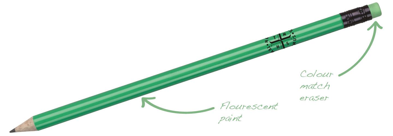 Flourescent-Pencil-Green