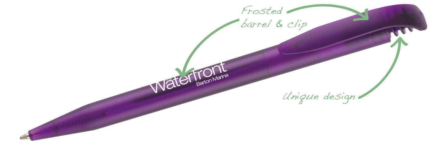 Harrier Nouveau Frost Purple - Harrier Nouveau Frost Pens
