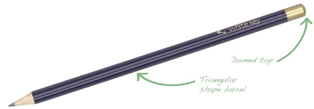 Triside Pencil BlueGold 1024x356 - Pencils